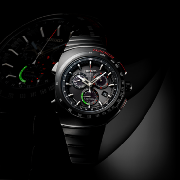 A new Astron GPS Solar watch that combines Seiko's GPS Solar technology and the genius of Giugiaro Design
