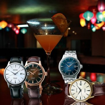 New Seiko Presage from the cocktail bar to your wrist