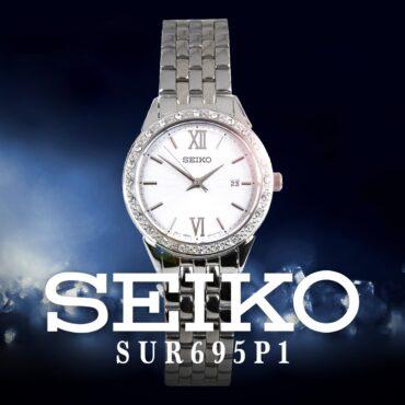 SEIKO QUARTZ SUR695P1