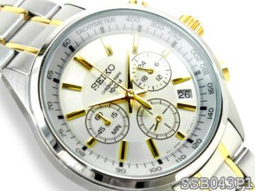SEIKO QUARTZ Chronograph SSB043