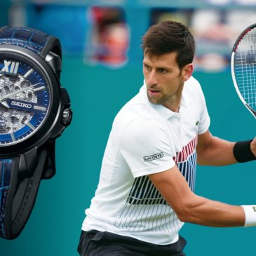 The Premier automatic skeleton, designed for Novak Djokovic