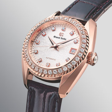 Slimness and performance in perfect balance. The new automatic Grand Seiko caliber for women