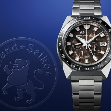 20 years of Spring Drive are celebrated in a new Grand Seiko sport design. The Grand Seiko lion bares its claws