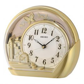 SEIKO Desk Table Clock QXN232G