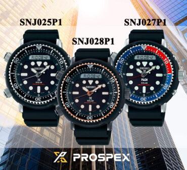 Seiko Prospex SNJ025P1 SNJ028P1 SNJ027P1