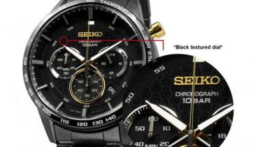 Seiko QUARTZ Chronograph SSB363P1