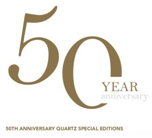50 Year Anniversary Seiko Quartz