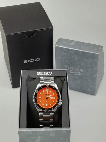 Seiko 5 Sports SRPD59K1 Box