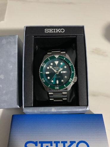 Seiko 5 Sports SRPD61K1 Box