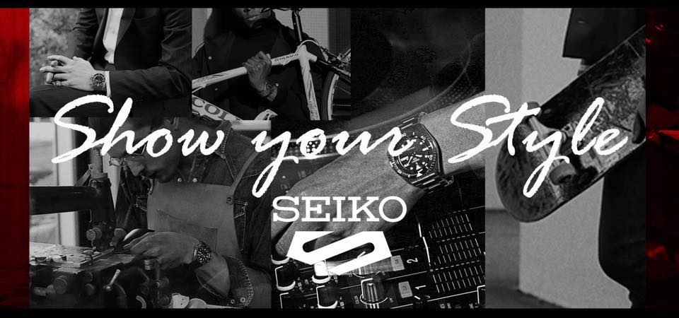 Seiko 5 Show Your Style Banner