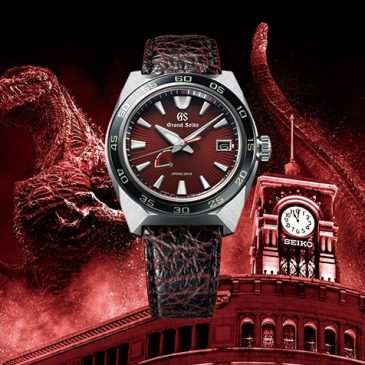 Spring Drive and Godzilla. A celebration of two anniversaries in a Grand Seiko limited edition