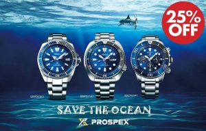 Seiko Prospex Great White Shark Save The Ocean 25% off