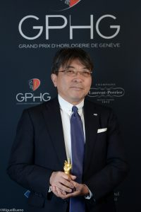 Akio Naito, Director and Senior Executive Vice President of Seiko Watch Corporation