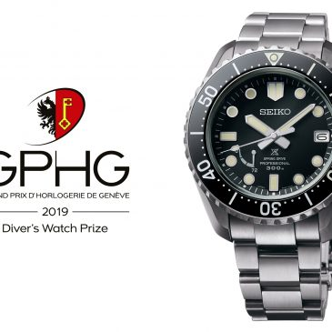 The Seiko Prospex LX Line Diver's wins the Diver's Watch Prize at the 2019 Grand Prix