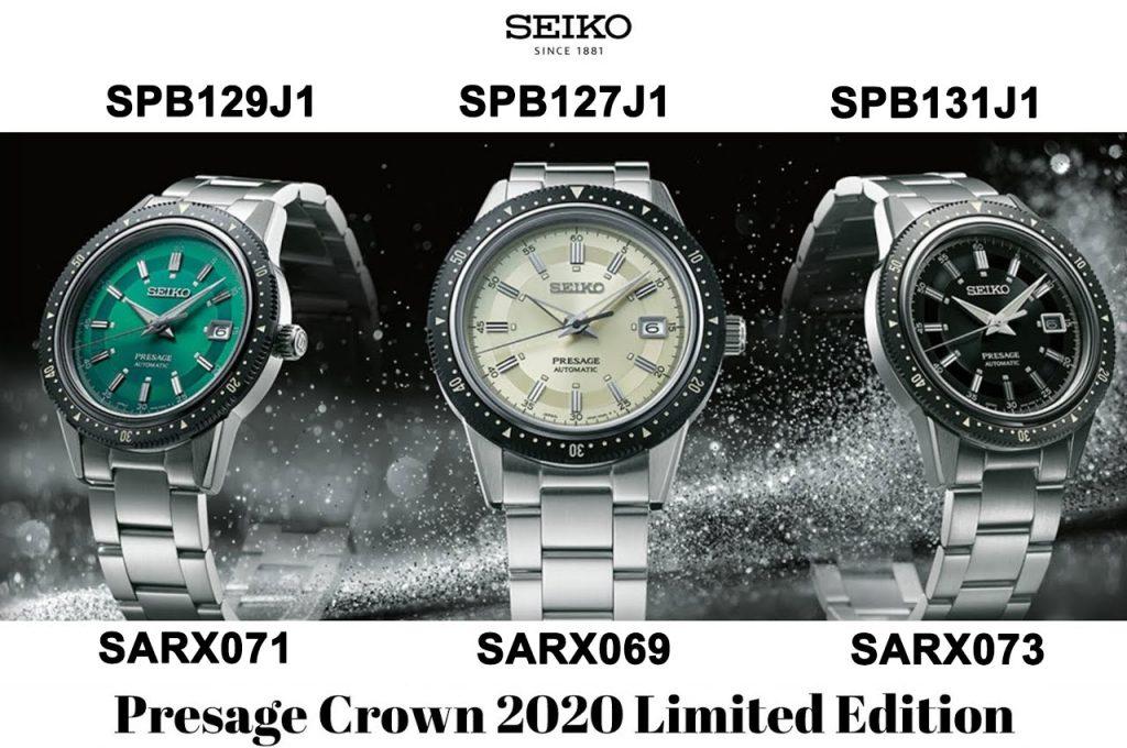 Seiko Presage Prestige Crown 2020 Limited Edition