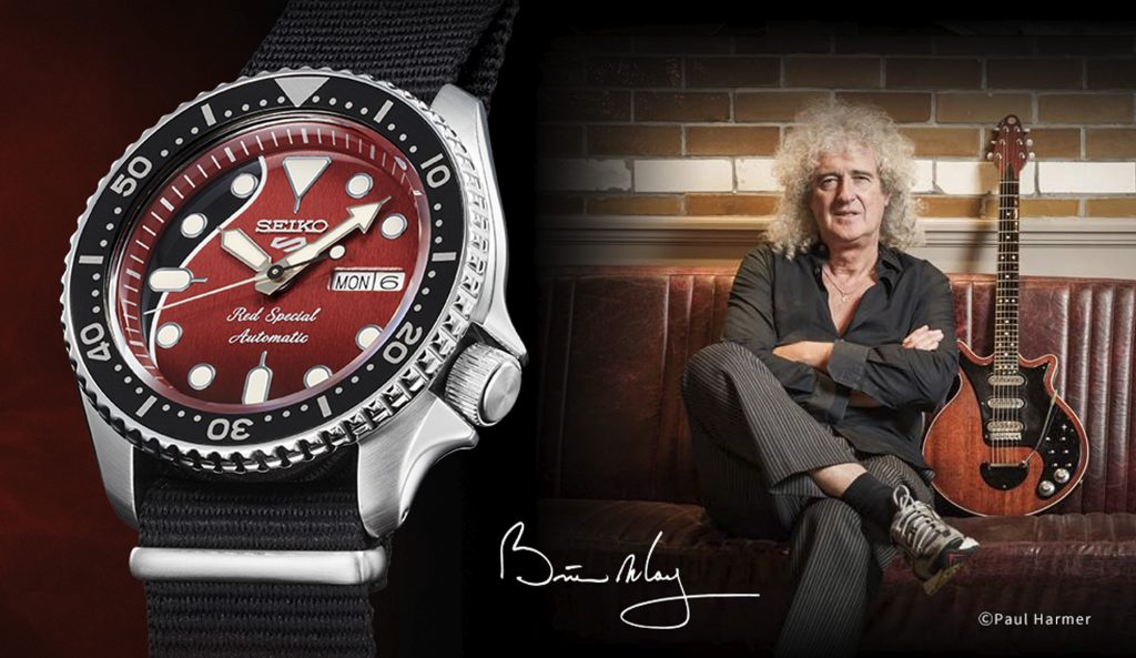 Seiko 5 Brian May Red Special