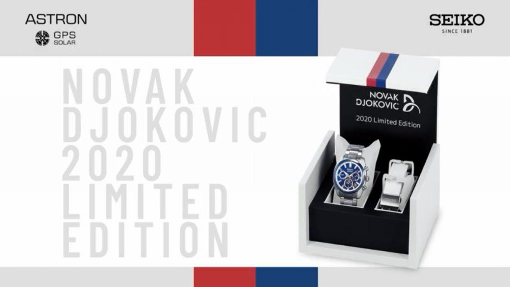 Seiko Astron SSH045J1 SBXC045 Novak Djokovic 2020 Limited Edition