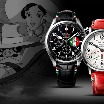 "Seiko Presage and ""Porco Rosso"" take to the skies in collaboration with an animation film classic"