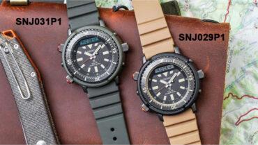 Seiko Prospex SNJ031P1 SNJ029P1