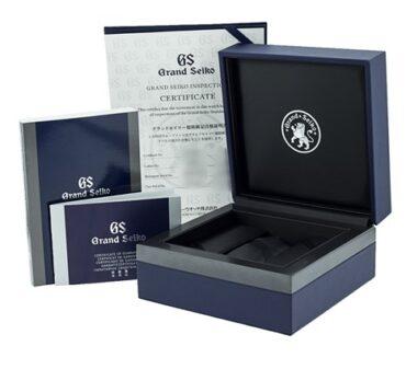 Grand Seiko SBGR315G Box