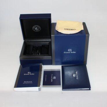 Grand Seiko SBGR317G Box