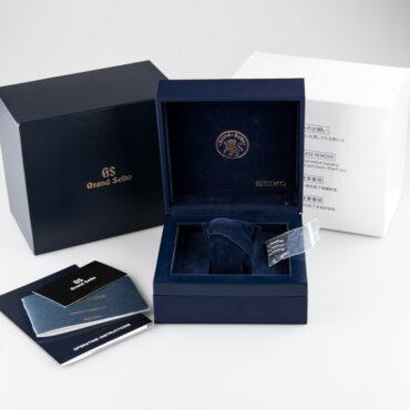 Grand Seiko SBGX117 Box
