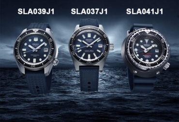 Seiko Prospex Diver 55th Anniversary SLA037J1 SLA039J1 SLA041J1