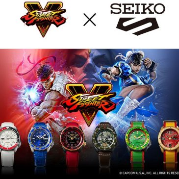 Seiko 5 Sports meets Street Fighter V