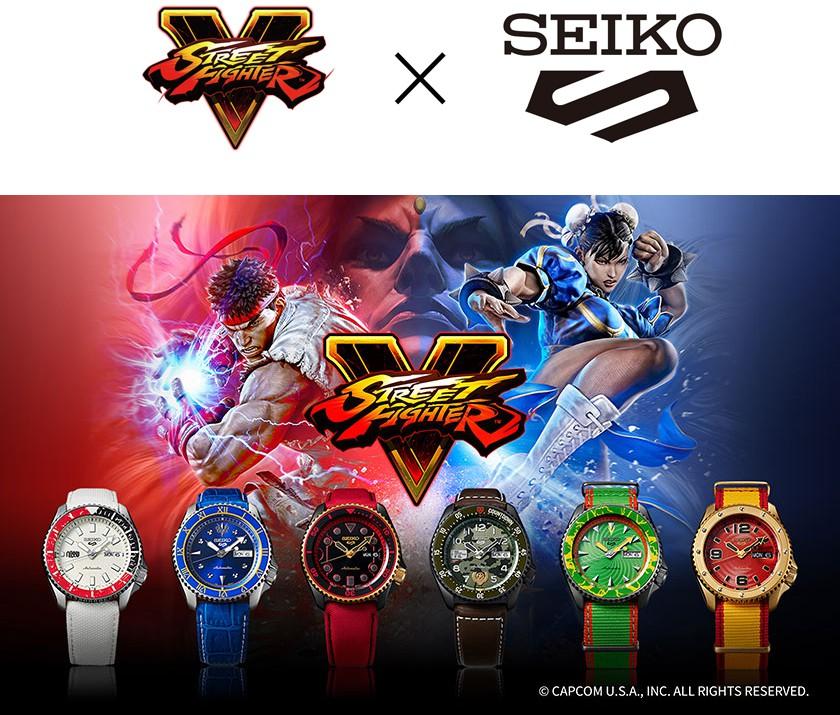 Seiko 5 Street Fighter