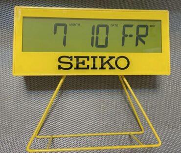 SEIKO Alarm Clock QHL083Y
