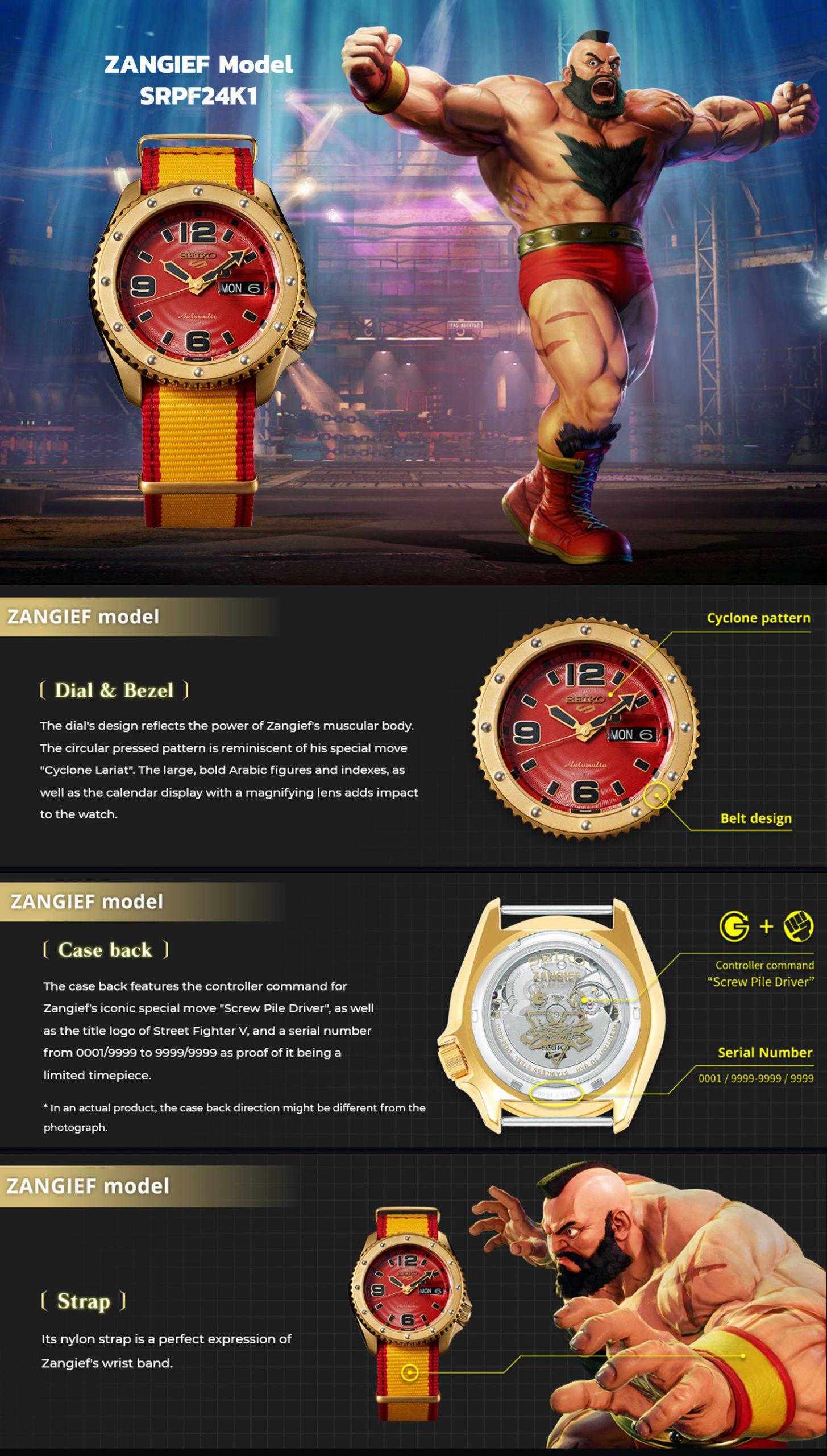 Seiko 5 Sports SRPF24K1 Features