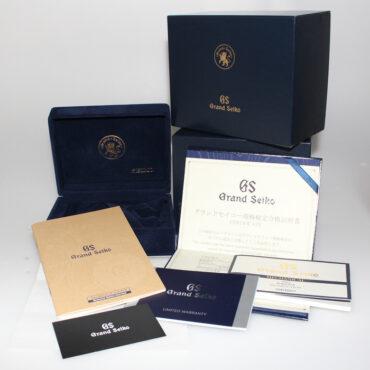 Grand Seiko SBGE039 Box