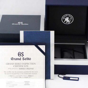 Grand Seiko SBGH043J Box