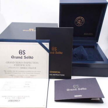 Grand Seiko SBGJ017 Box