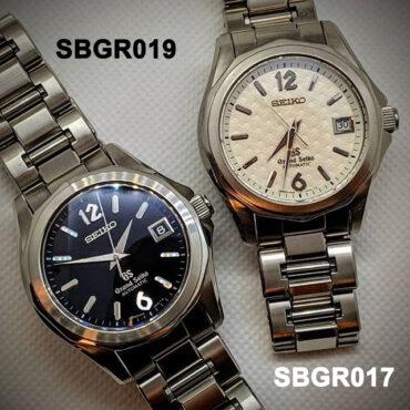 Grand Seiko SBGR019 SBGR017