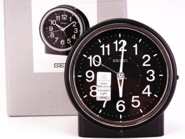 SEIKO Alarm Clock QHE117K Box