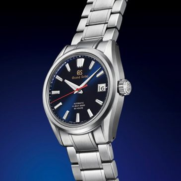 The revolutionary Grand Seiko's automatic caliber 9SA5 and a powerful new look completing 60th anniversary celebration