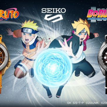 Seiko 5 Sports meets NARUTO & BORUTO
