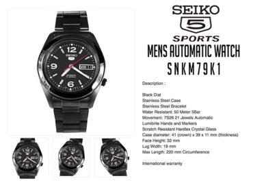 Seiko 5 Automatic SNKM79K1