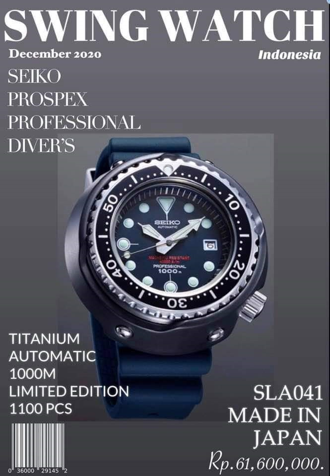 Seiko Prospex SLA041 Promotion