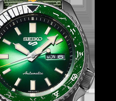 SEIKO 5 Sports SRPF73K1 Dial