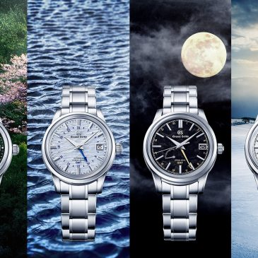 A new series of Grand Seiko GMT watches celebrates ever-changing seasons