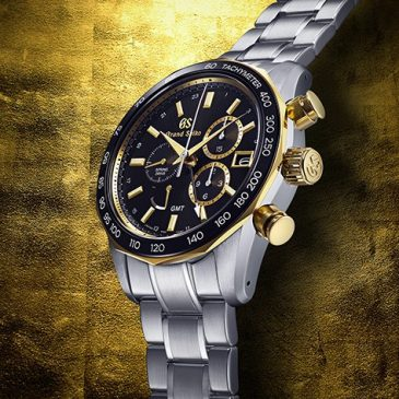 A new Spring Drive Chronograph with gold highlights joins the Grand Seiko Sport Collection