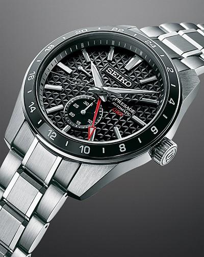 Seiko Presage Sharp Edged GMT SPB221 Bracelet