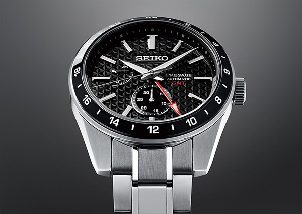 Seiko Presage Sharp Edged GMT SPB221 Dial