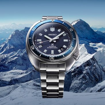 A re-interpretation of the Seiko 1970 diver's watch commemorates the life and achievements of adventurer Naomi Uemura
