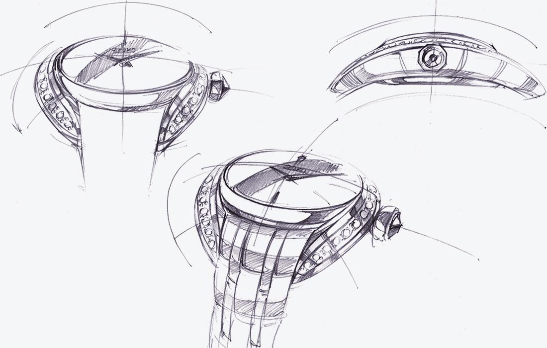 Grand Seiko STGK013 Design
