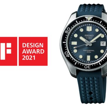 Seiko Prospex won the iF DESIGN AWARD 2021