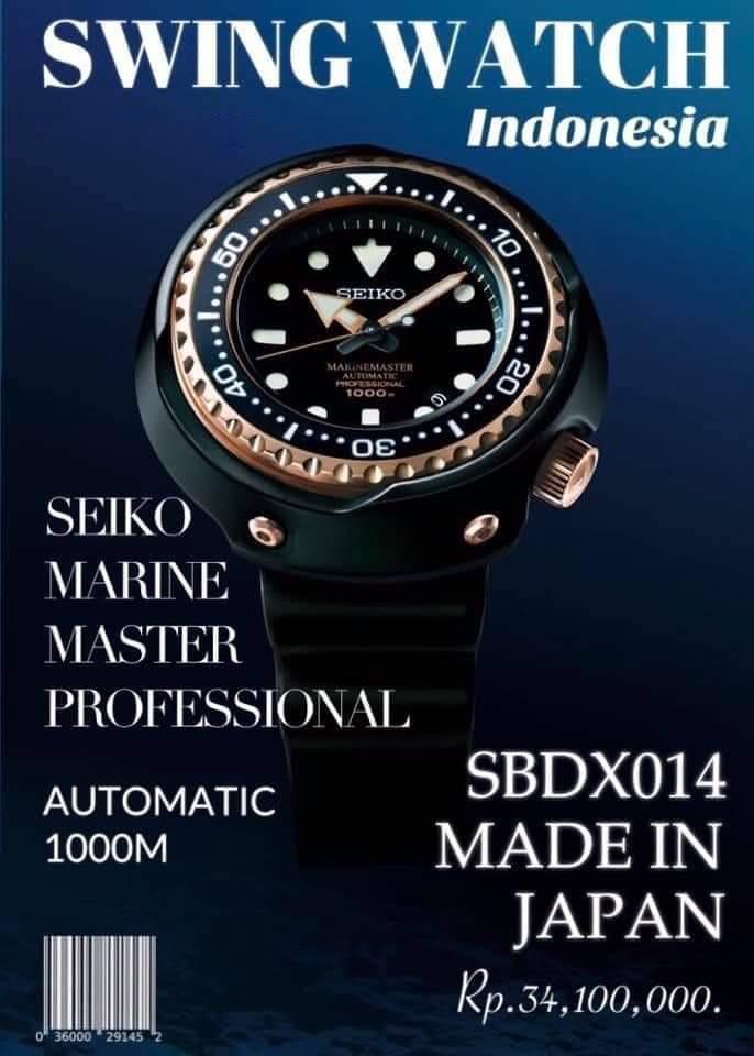 Seiko Prospex SBDX014 Promo