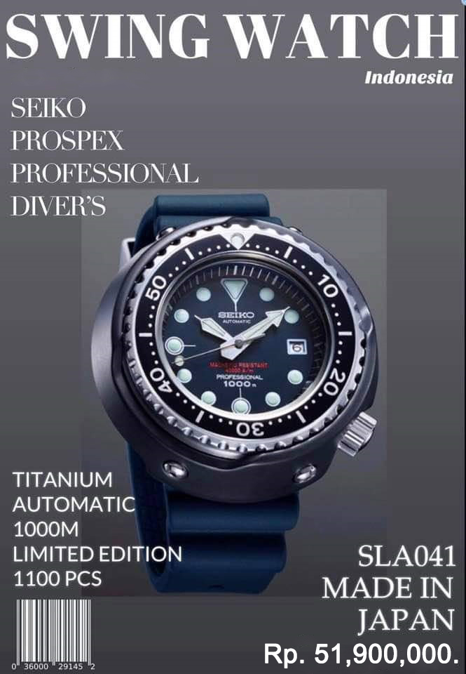Seiko Prospex SLA041 Promo